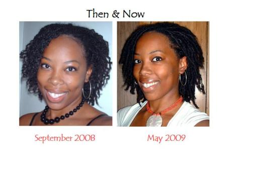 dreads before after